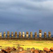 Pâques, une île au large du Chili