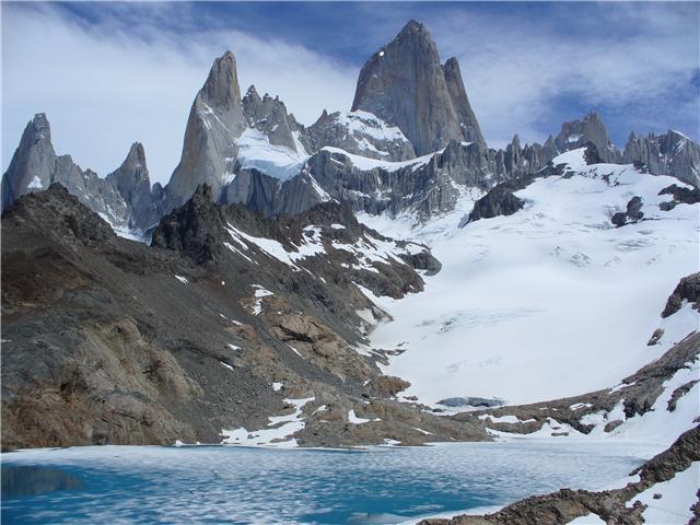Fitz Roy, lago Tres, El Chalten, Patagonie argentine