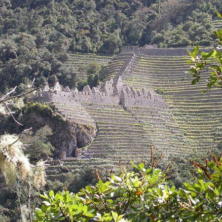 ruines de Wiñay Wayna sur le chemin de l'inca, Pérou