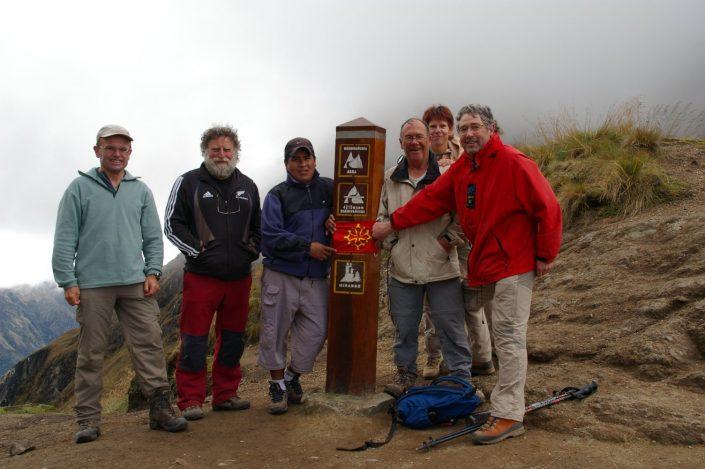 randonneurs, chemin de l'inka, Pérou