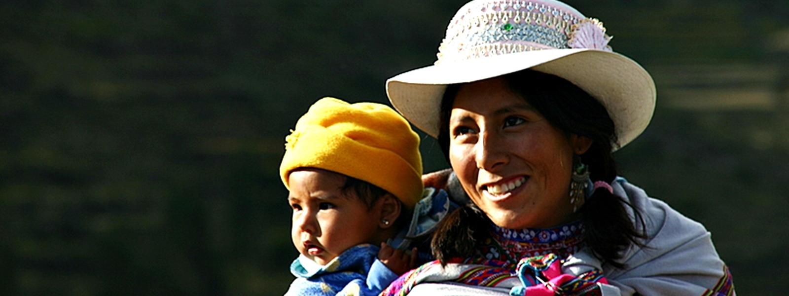 Portraits canyon du Colca, Pérou