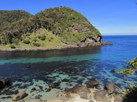 trek Mapu lahual crique du Pacifique