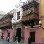 Lima colonial, balcon