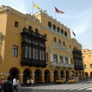 Lima, place d'armes