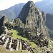 ruines de Machu Picchu et montagne Huayna Picchu