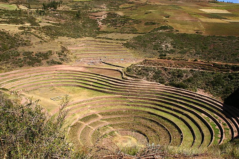 site inka de Moray, vallée sacrée Pérou