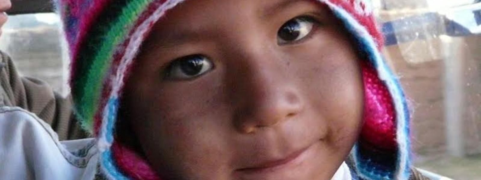 portrait enfant Chili Nord Atacama