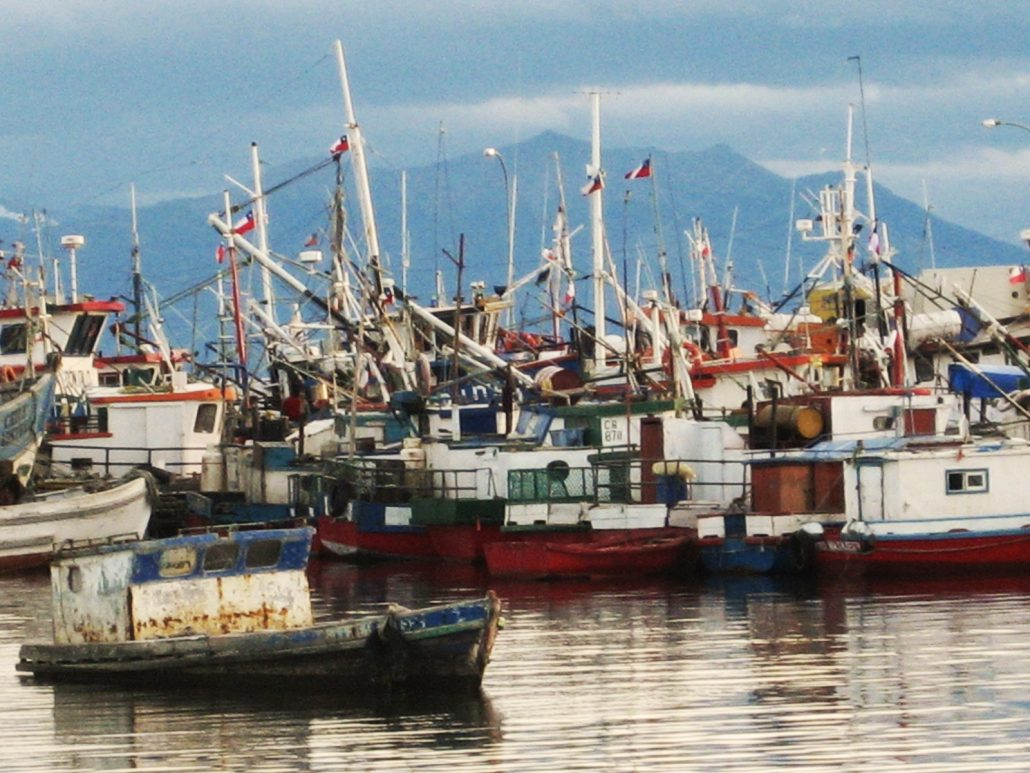 port de Puerto Natales