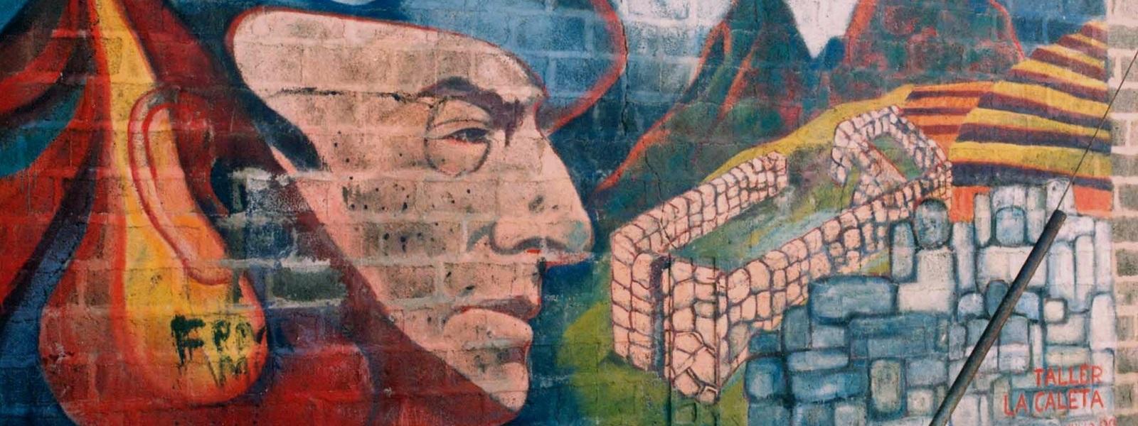Valparaíso, Street art, Neruda