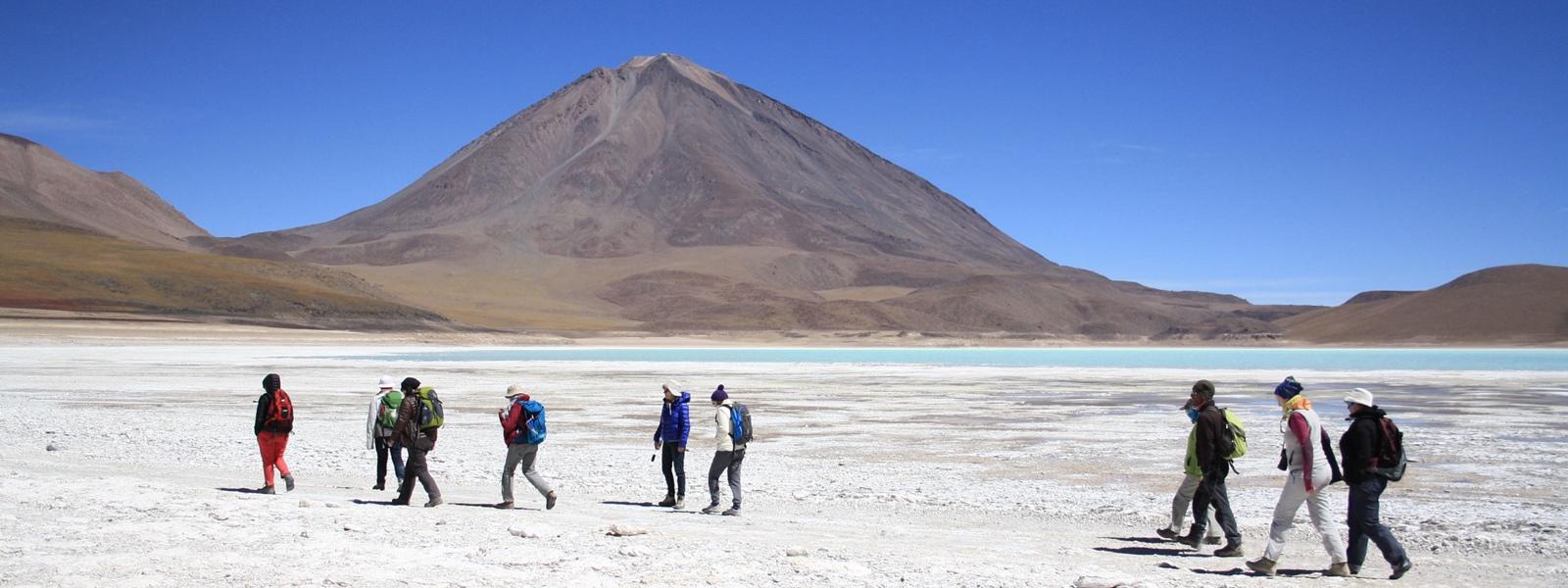 Laguna verde - Volcan Licancabur-Bolivie