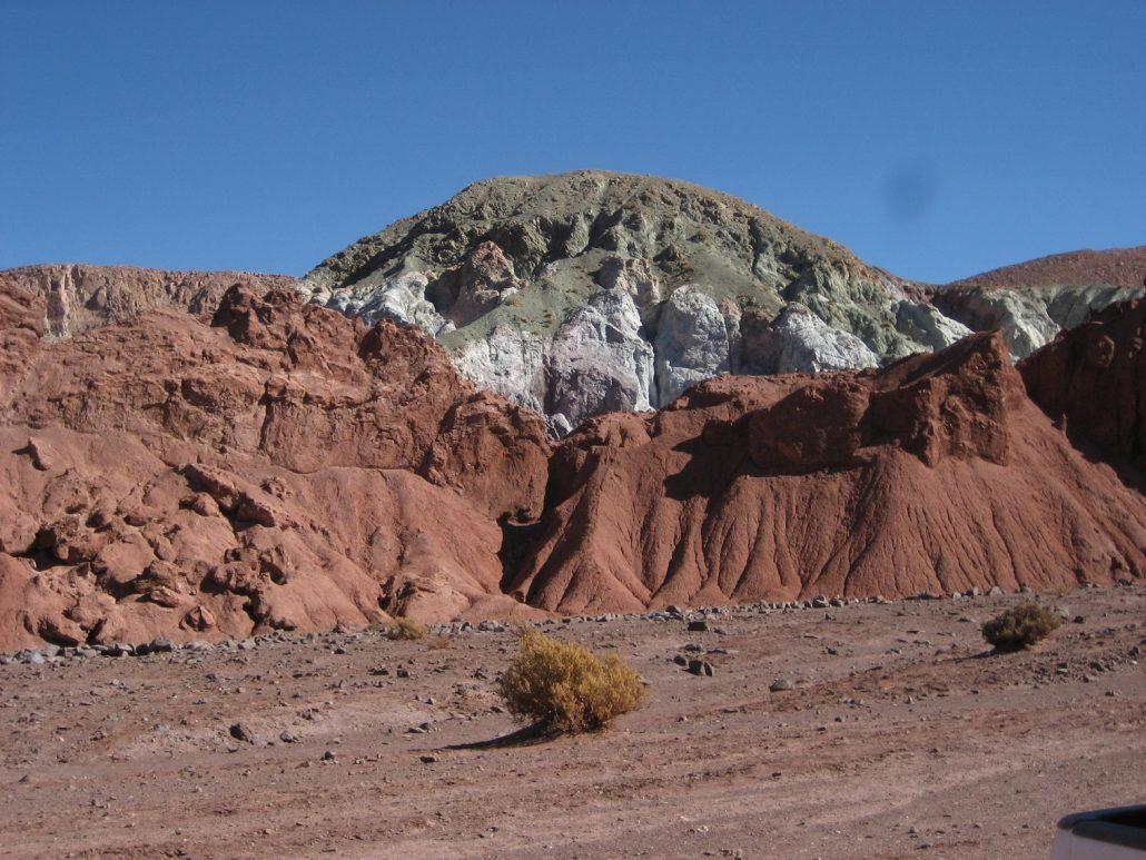 vallée de l'arc en ciel, Atacama