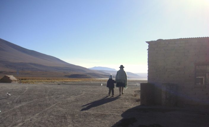 Sur l'altiplano bolivien
