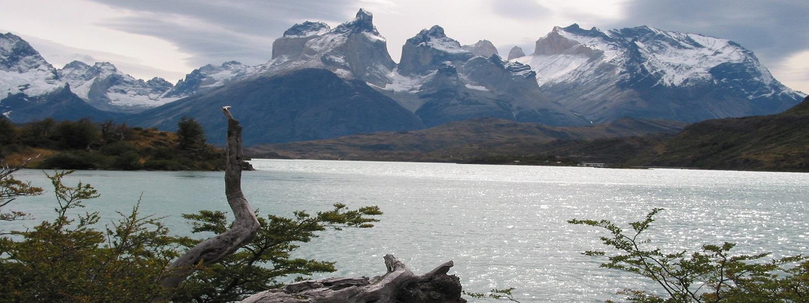 parc Torres del Paine, lac Pehoe, Cuernos