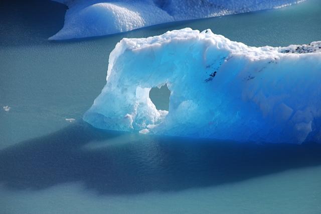 patagonie, glacier