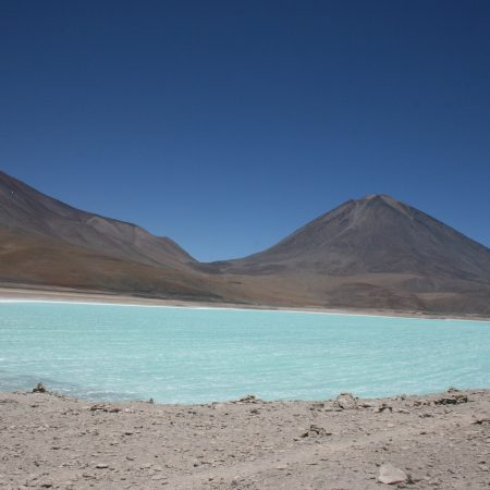 Laguna Verde, sud Lipez Bolivien