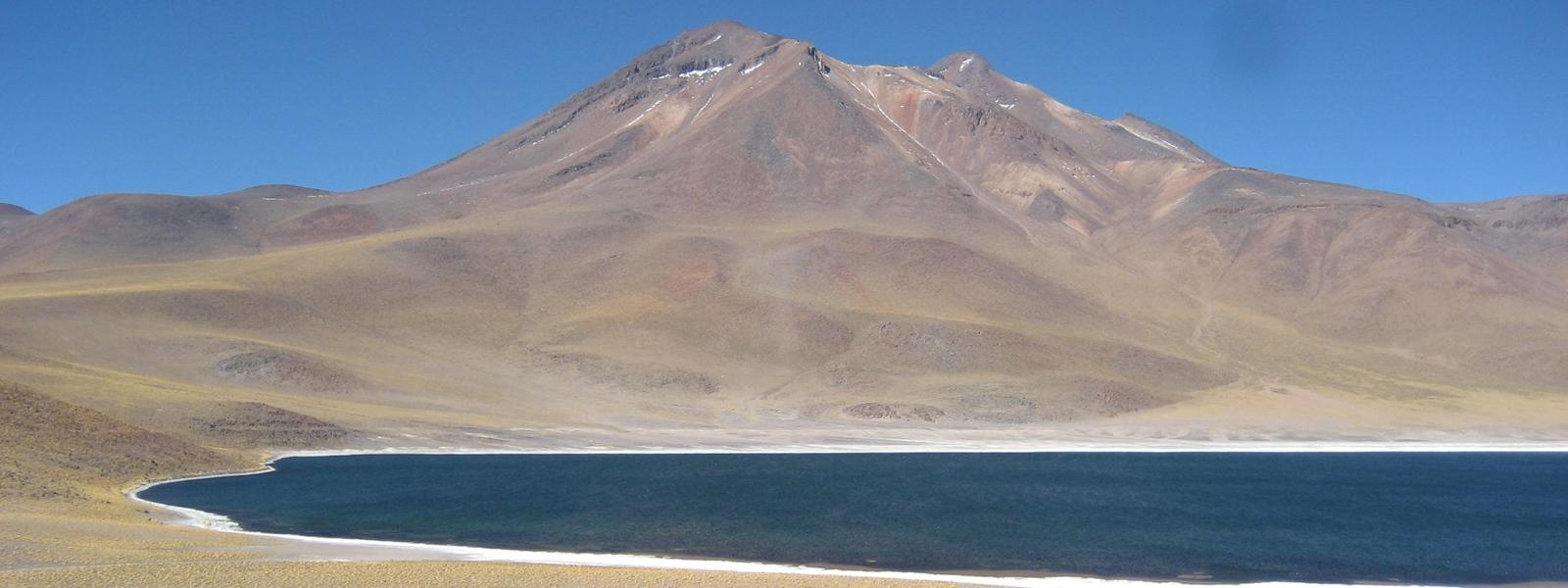 laguna Miñique, Atacama, Chili Nord