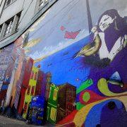 fresque murale, Valparaíso