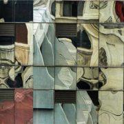 Santiago du Chili, reflets sur bâtiment de verre