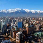 Santiago et la cordillère