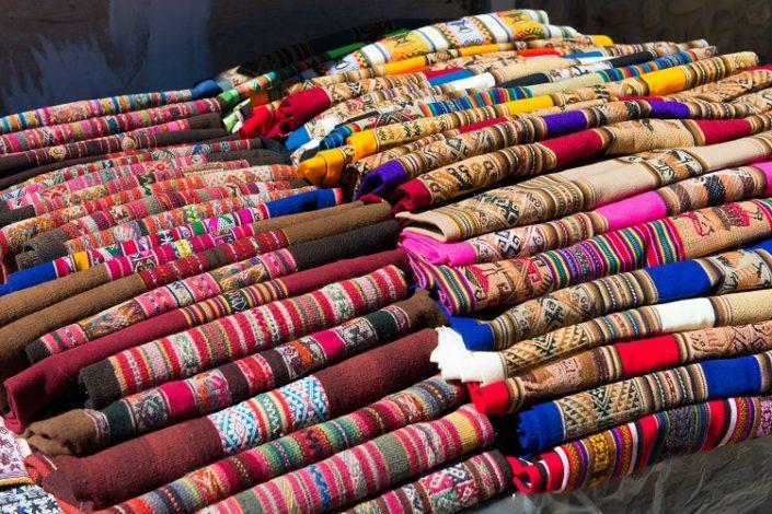 marché Tarabuco, Bolivie