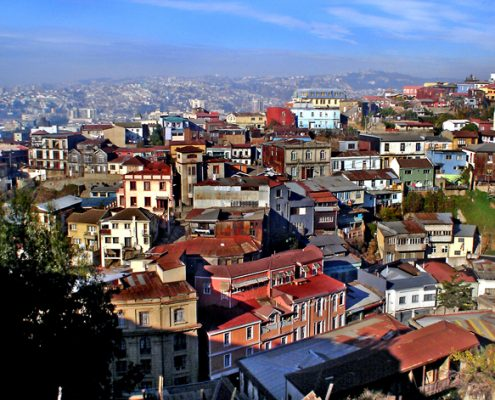 colline de Valparaíso