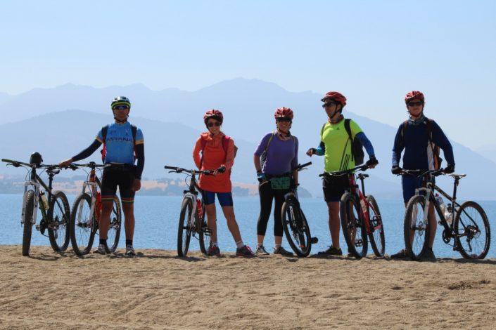 à vélo au Chili