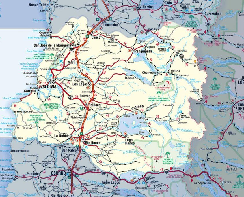 XIV region- los ríos-Valdivia