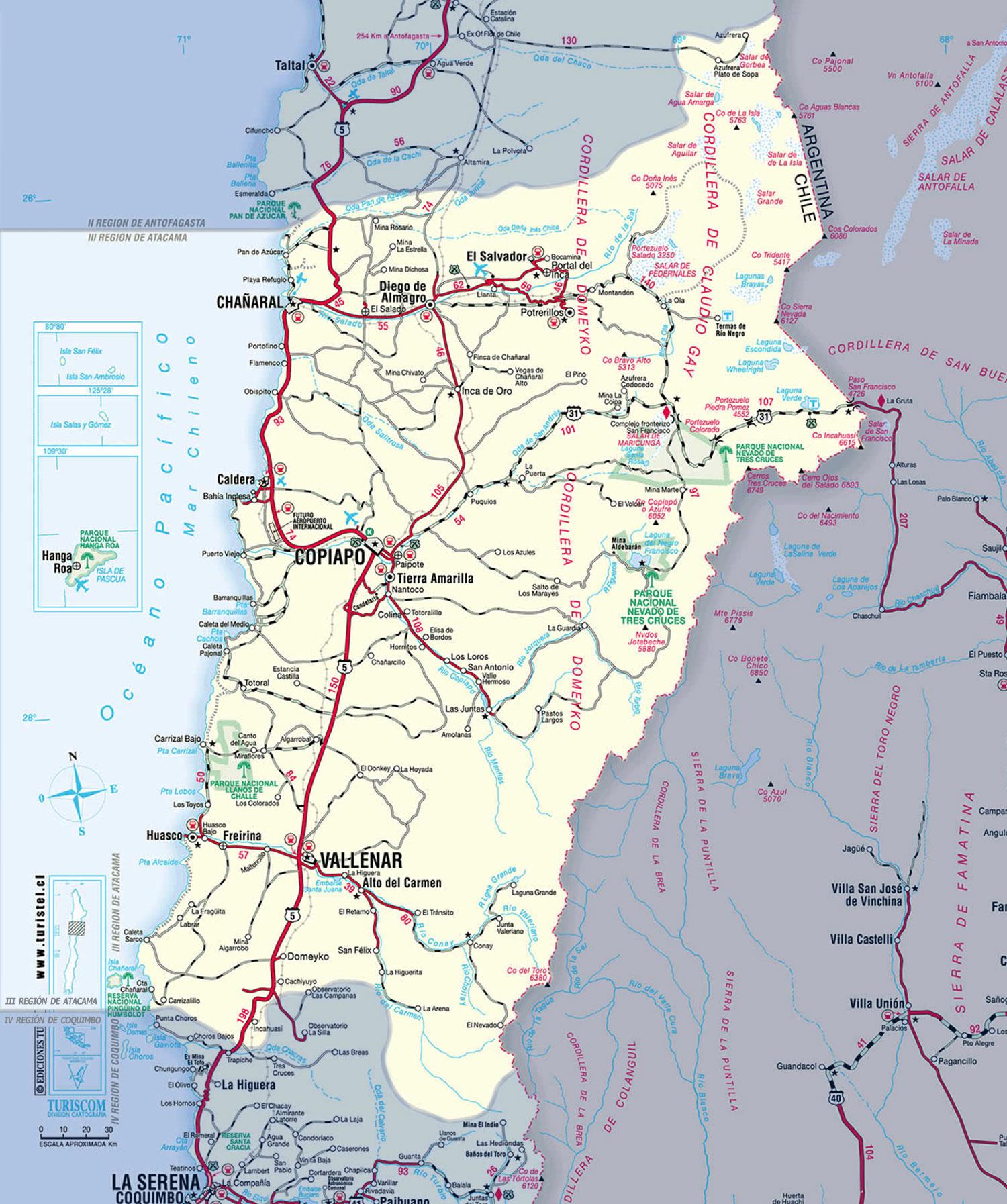 III region- Atacama-Chañaral-Copiapo