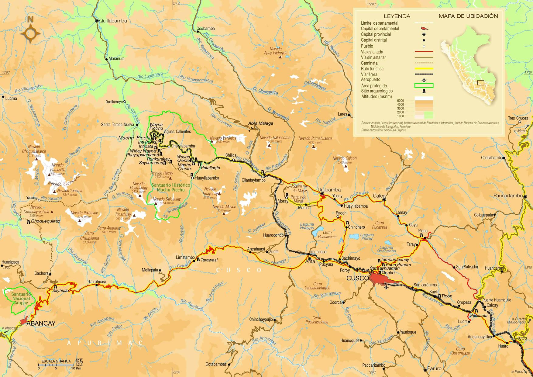 région de Cusco-Vallée sacrée