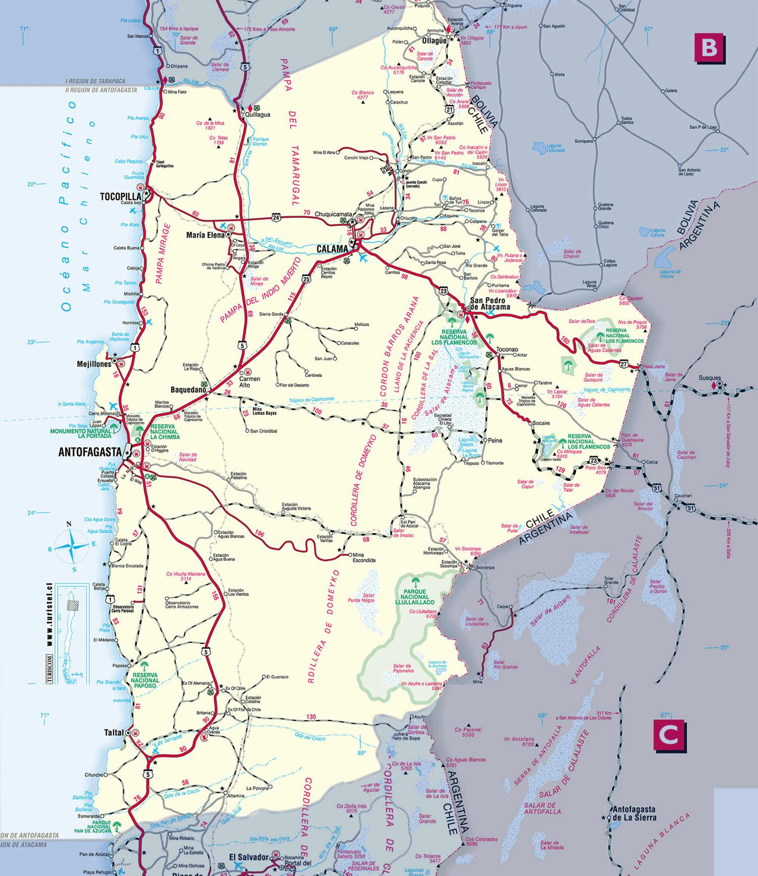 II region- Antofagasta-San Pedro